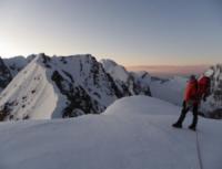 1112 View To The Summit Of P4783 Djangart Range Of The Kokshaal Too